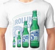 Rolling Rocks in a Row: COLOR Unisex T-Shirt