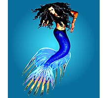 Beautiful Mermaid Photographic Print
