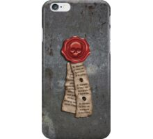 Mark of Honour iPhone Case/Skin