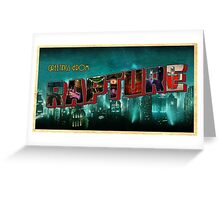 Greetings From Rapture! Greeting Card