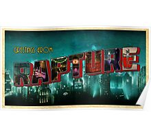 Greetings From Rapture! Poster