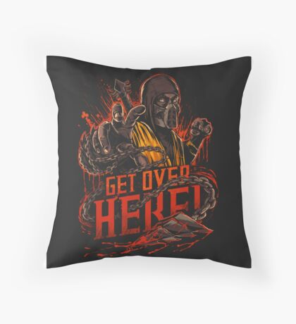 Get Over Here! Throw Pillow