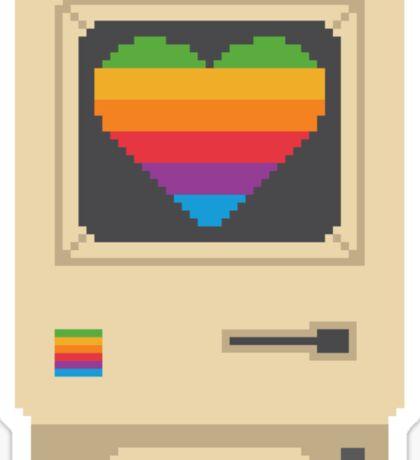 Mac Love Sticker
