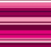 Pink Stripes  by Abstractionz