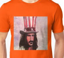 Frank Zappa (Top Hat) Unisex T-Shirt