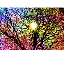 Psychedelic Dreams Photographic Print