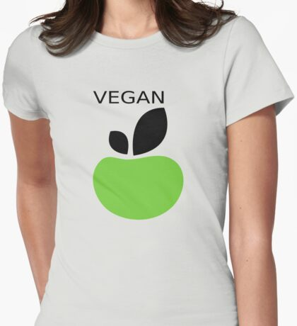 Proud Vegan Womens Fitted T-Shirt