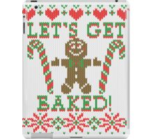 Let's Get Baked The Gingerbread Cookie Says iPad Case/Skin