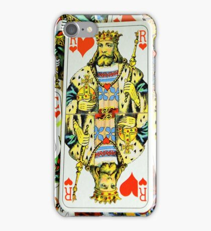 COURT CARDS iPhone Case/Skin