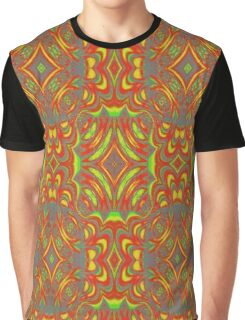 Abstract cool unique Pattern Graphic T-Shirt