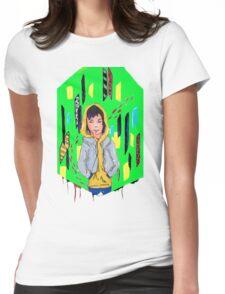Total Zen Mode Womens Fitted T-Shirt