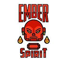 Ember Spirit Dota 2 VALVE SHIRT Photographic Print