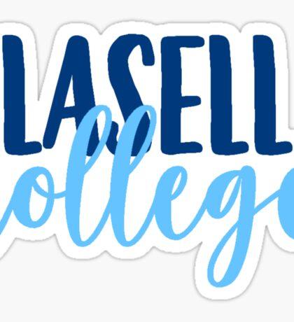 Lasell College Sticker