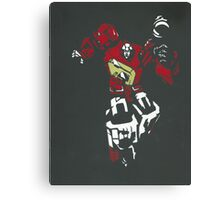 Blaster From Transformers Stencil Piece Canvas Print