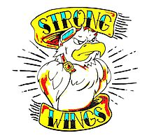 Strong Wings Photographic Print