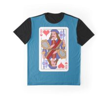 JACK OF HEARTS (LA HIRE) Graphic T-Shirt
