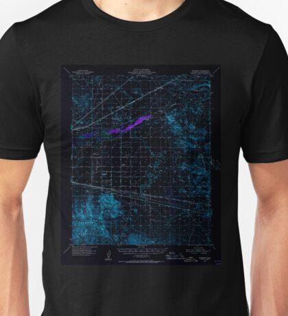 USGS TOPO Map California CA Newberry 298364 1955 62500 geo Inverted Unisex T-Shirt