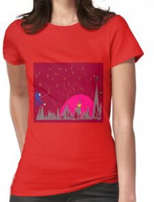 Dreamscape 5: A Matter of Perspective Womens Fitted T-Shirt