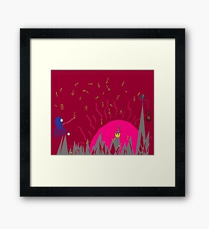 Dreamscape 5: A Matter of Perspective Framed Print