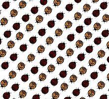 peace ladybug by Paul Simms