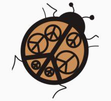 peace ladybug Kids Tee