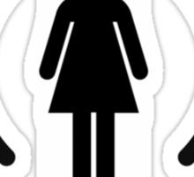 Wife - another Wi-Fi parody Sticker