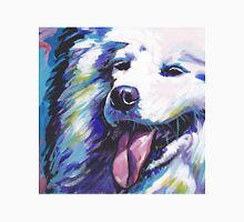 Samoyed Bright colorful pop dog art Unisex T-Shirt