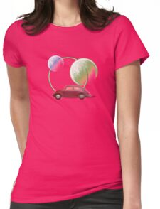 car space  Womens Fitted T-Shirt