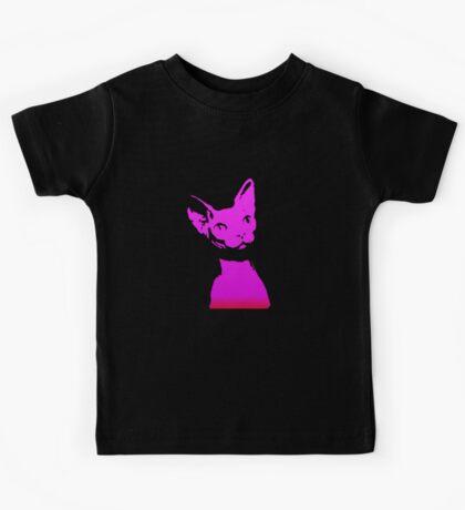 Naked Astro Cat - 15 Kids Tee