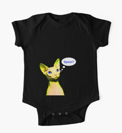 Naked Astro Cat - 12 One Piece - Short Sleeve