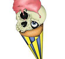 Eye-Scream Cone by Melissa Hare