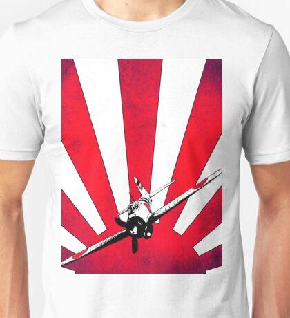 Stylised Mitsubishi A6M Zero Unisex T-Shirt