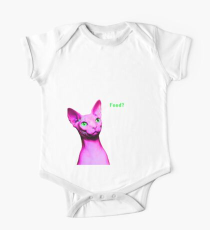 Naked Astro Cat - 11 One Piece - Short Sleeve