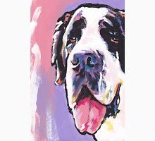 Saint St. Bernard Bright colorful pop dog art Unisex T-Shirt