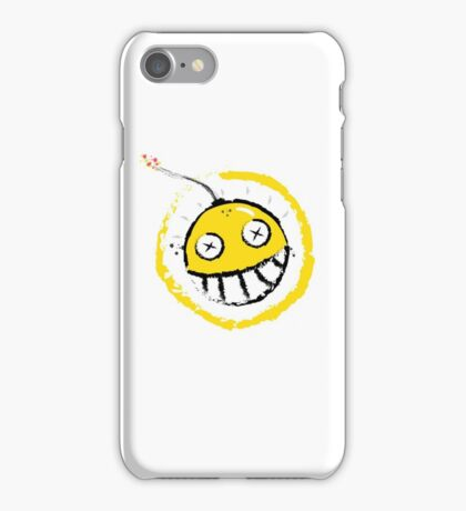 Exploding Junk Person iPhone Case/Skin