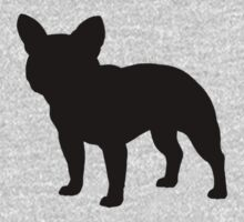 French Bulldog Silhouette by Jenn Inashvili