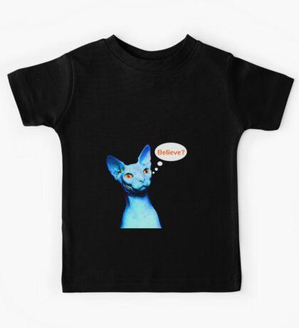 Naked Astro Cat - 9 Kids Tee