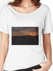Brilliant Sunset Women's Relaxed Fit T-Shirt