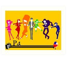 Persona 4!!! Art Print