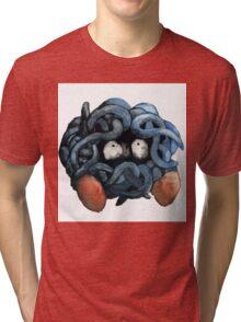 Tangela Watercolor Tri-blend T-Shirt