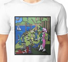 A Sunday Afternoon in Angel Grove Park Unisex T-Shirt
