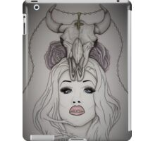 Sharon Needles Drawing iPad Case/Skin