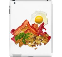 My Ketchup Gone Squatchin for Bacon iPad Case/Skin