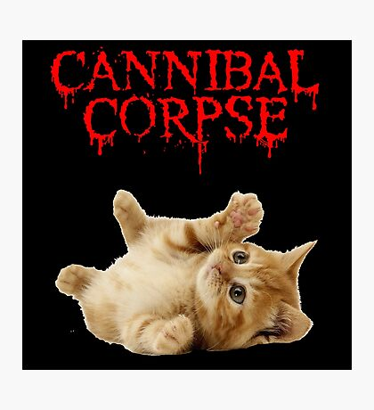 cannibal corpse Photographic Print