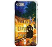 tardis starry night cute  iPhone Case/Skin
