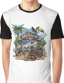 Welcome to Alola! Graphic T-Shirt