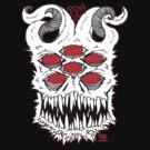 Demon Skull of Anarchy by Dr-Twistid
