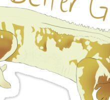 Crested Gecko Sticker Sticker