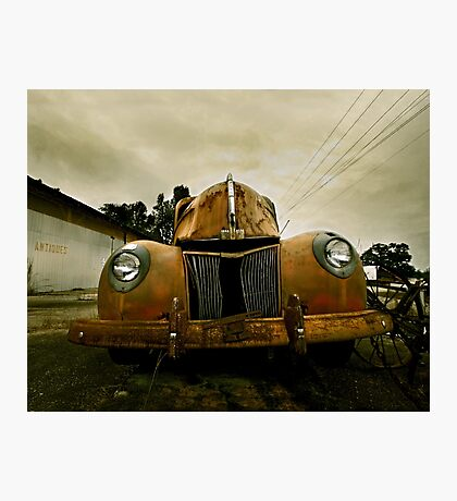 Abandoned 1940 Ford Pickup Photographic Print