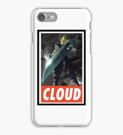 -FINAL FANTASY- Cloud Final Fantasy VII iPhone Case/Skin